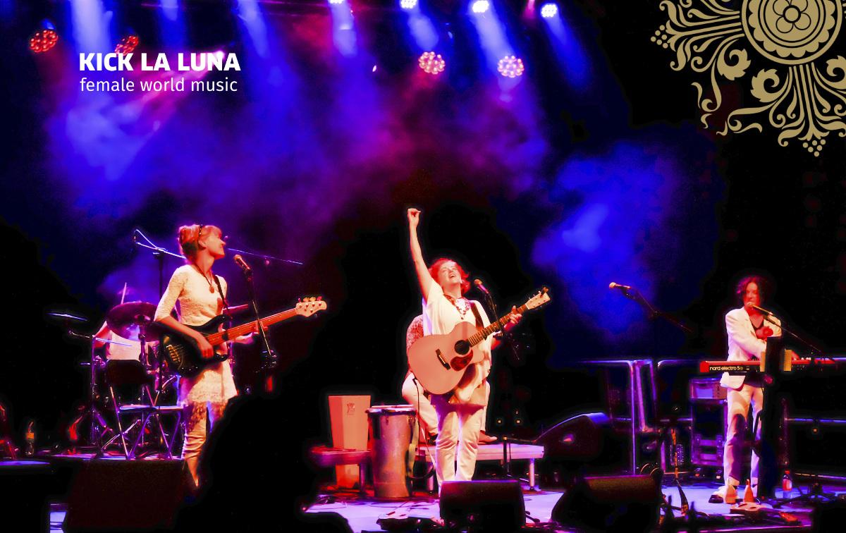 Kick la Luna live Bandfoto